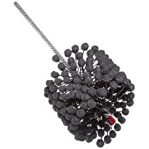 "Brush Research FLEX-HONE Cylinder Hone, BC Series, Silicon Carbide Abrasive, 12 mm (.472"") Diameter, 180 Grit Size"