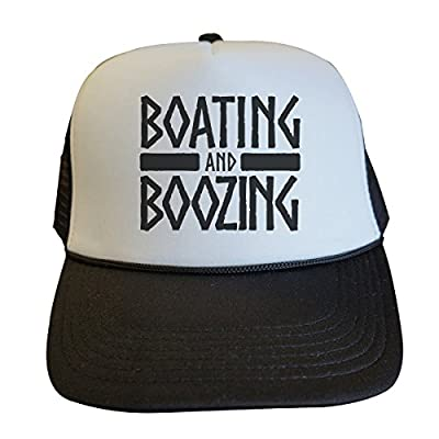 Funny Captain Party Hats Boating and Boozing Royaltee Unisex Lake Collection