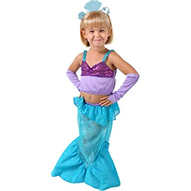 Little Mermaid Toddler Halloween Costume (Size Toddler 2-4T)  sc 1 st  Amazon.com : the little mermaid toddler costume  - Germanpascual.Com