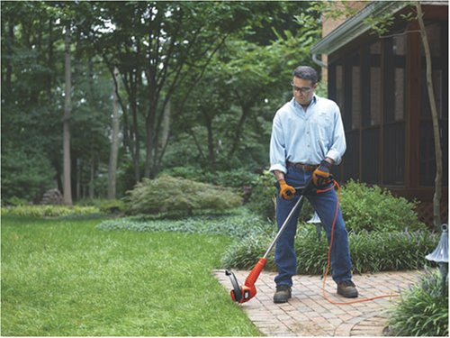BLACK+DECKER ST7700 4.4-amp Electric Automatic Feed String Trimmer/Edger, 13''