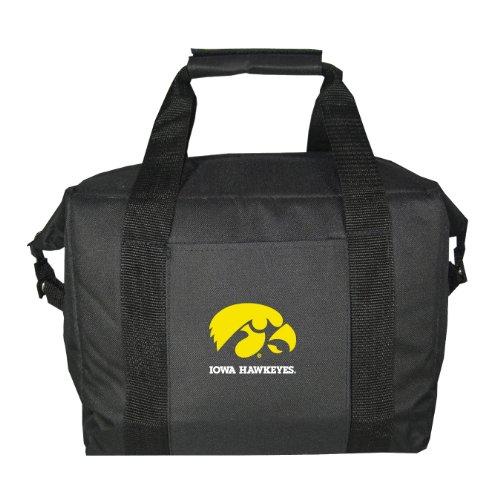 [NCAA Iowa Hawkeyes Soft Sided 12-Pack Cooler Bag] (Iowa Hawkeyes Tailgate Cooler)