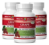 Product review for Joint pills for women - GRAPE SEED EXTRACT - Grape vitamins - 3 Bottles 90 Capsules