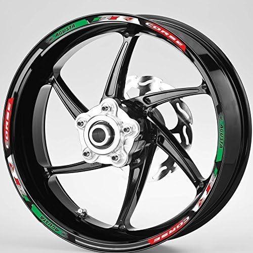 Mv Agusta F4 Rr Voller Rad Felge Italienische Stile Grafik Aufkleber Auto