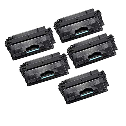 Image of Amsahr CF214X Compatible Replacement Toner Cartridges Black (Pack of 5) Camera