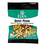 Eden Foods Quiet Moon Nuts Seed and Dried Fruit, 1 Ounce – 12 per case.