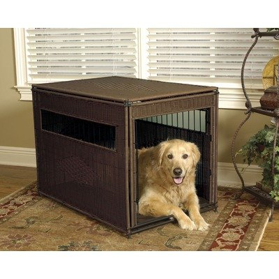 Pet Residence in Dark Brown Size: Large