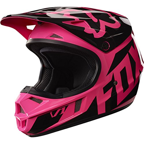 Helmet Race Small (Fox Racing 2017 Race  Youth/Kids  V1 Motocross Motorcycle Helmet - Pink / Large)