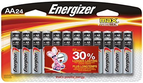 Price comparison product image Energizer Max AA Premium Alkaline Batteries (24-Pack), No Leaks - Guaranteed or we will replace your device