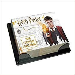 Harry Potter Desk Block 2019 Calendar - Page a Day Desk Bloc ...