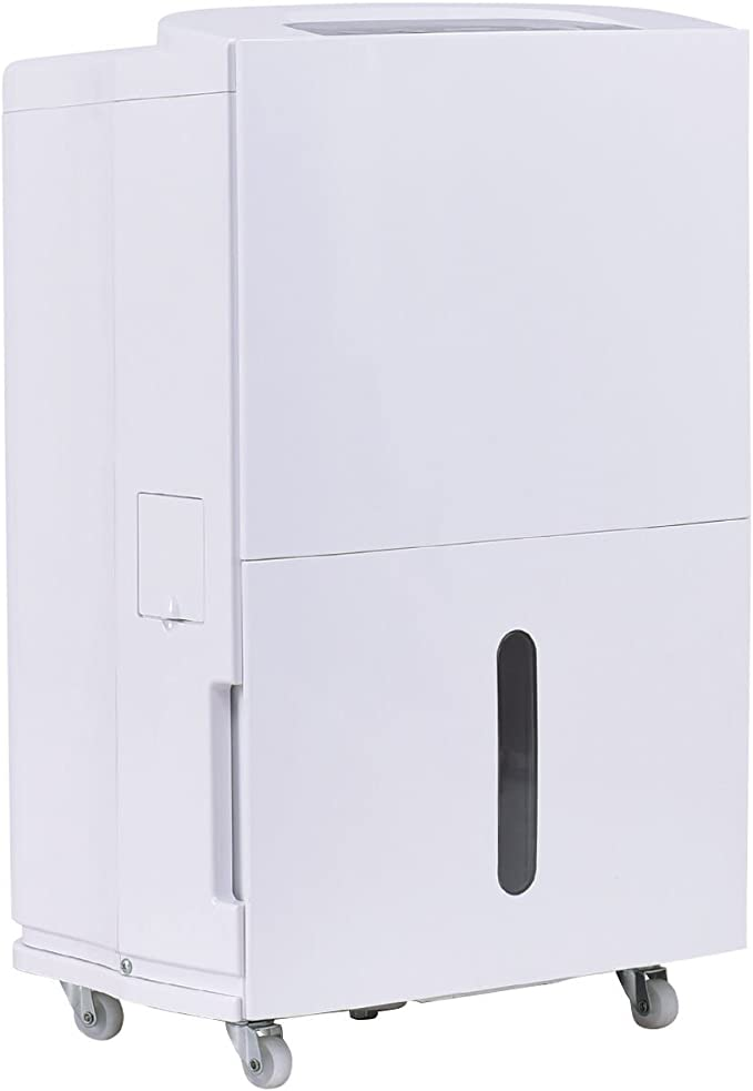 Nuevo Compacto 70 pinta deshumidificador 3 velocidad ventilador temporizador lavable filtro de aire casa 8L depósito: Amazon.es: Hogar