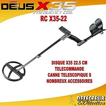 Detector XP DEUS RC 22,5 cm, 9 (Lite) V3,2 nueve garantía 1: Amazon.es: Electrónica