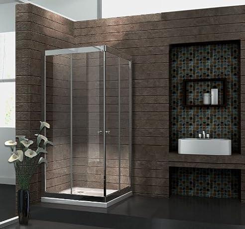 duschkabine slide 90 x 90 x 195 cm - Mietwohnung Dusche Ohne Kabine
