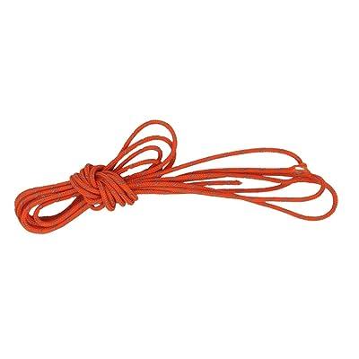 1.8mm Corde de Tente Réfléchissante pour Camping 20m Orange