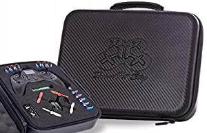 Hubsan X4 Carrying Case for h107l, h107c, h108 Spyder Models - Waterproof | Durable | Compact | EVA Material - Carry Your Drone with Maximum Protection