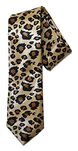 Ted and Jack - Say It With Style Novelty Tie - Leopard - Cheetah Print Mens