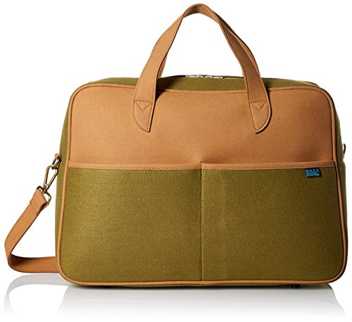 M.R.K.T. Martin Utility Bag, Olive Green, One (Suede Utility Bag)