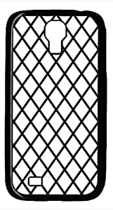 Samsung Galaxy S4 I9500 Black Hard Case - Black And White Prism 4 Galaxy S4 Cases