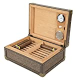 XIFEI leather edge cigar humidors Cedar wood cigar humidors