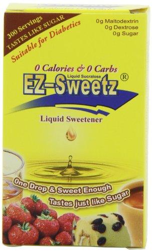 EZ-Sweetz liquide édulcorant 0,75 onces Bouteilles (pack de 6)