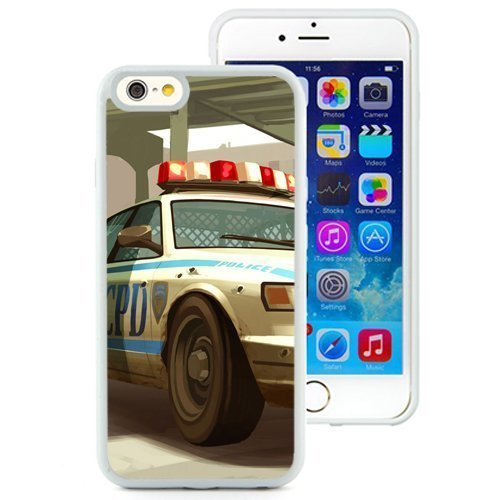 Personality customization iPhone 6 case, Lcpd Gta Police Cop Car Shot (2) iPhone 6 phone case At J-15 Cases (Grand Theft Auto Lcpd compare prices)