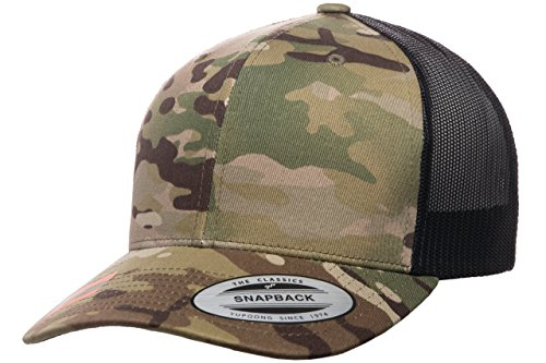 Flexfit Officially Licensed Yupoong Retro Trucker Multicam by ()