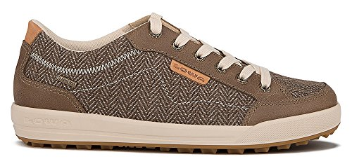 Lowa Damen Sneaker Halbschuh Outdoor Schuh Maine GTX Lo Braun - 320785 0485