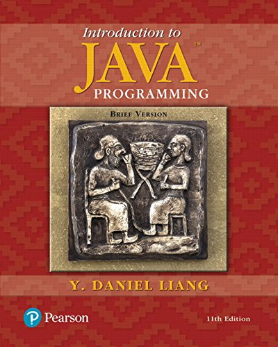 Introduction to Java Programming, Brief Version Plus MyProgrammingLab with Pearson eText -- Access Card Package (11th Edition) by Pearson