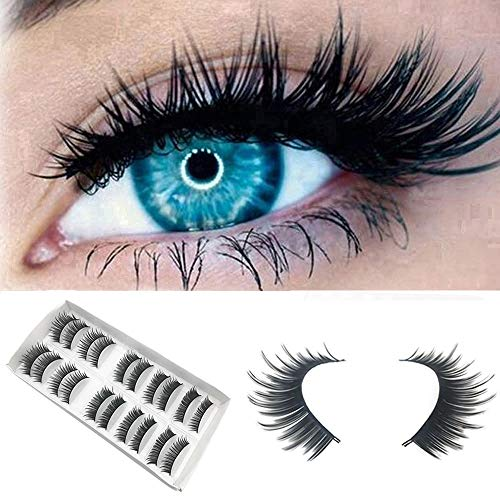 Euone Lashes Clearance , 10 Pair Luxury 3D