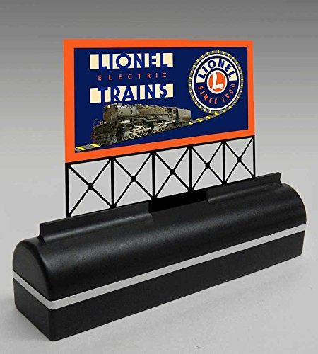2150 Lionel Billboard in a DTN base by Miller Signs