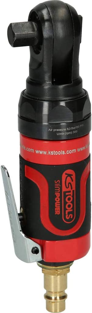 KS Tools 3//8 515.5510 Slim Power Mini Air Reverse Ratchet 34nm