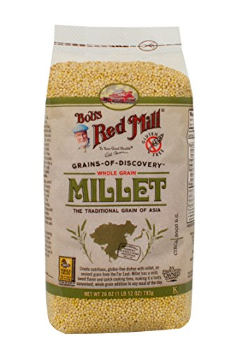 - Bob's Red Mill Whole Grain Millet, 28-ounce (Pack of 4)