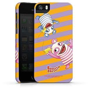 Carcasa Design Funda para Apple iPhone 5 S PremiumCase white - SORGENFRESSER Betti & Bill