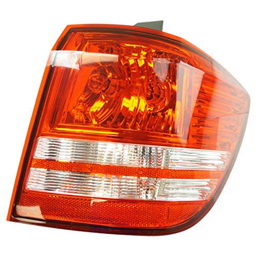 Outer Quarter Panel Mounted Tail Light Lamp Passenger Side RH for Dodge Journey