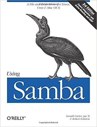 Using Samba: A File And Print Server For Linux, Unix & Mac OS X, 3rd Edition 3rd Edition By Carter, Gerald, Ts, Jay, Eckstein, Robert (2007) Paperback Downloads Torrent