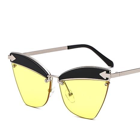 xuexue Creativo Gafas De Sol Retro Moda Hombres Marco De ...