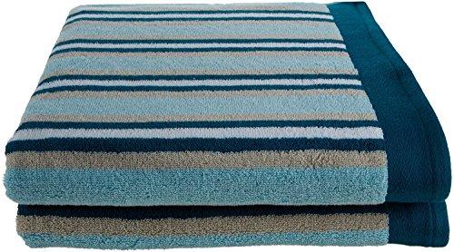 superior stripes cotton bath sheet