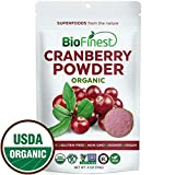 Cheap Biofinest Cranberry Juice Powder – 100% Pure Freeze-Dried Superfood – USDA Certified Organic Vegan Raw Non-GMO – Boost Digestion Weight Loss – for Smoothie Beverage Blend (4 oz Resealable Bag)