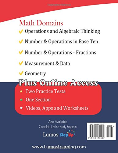 ACT Aspire Test Prep: 3rd Grade Math Practice Workbook and Full ...