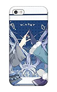 Galaxy Note 3 Case Slim [ultra Fit] Vocaloid Hatsune Miku Blue Tietwintails Bows Snowman Wink Yuki Miku Vocaloid Fanmade Protective Case Cover