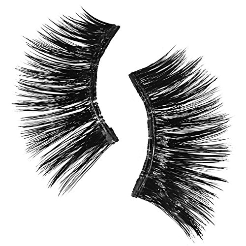 Lash'd Up Professional 3 Magnet Magnetic Eyelashes Silk Cruelty Free Full Eyes Complete Set Reusable Bold Thick Long False Lashes - No Glue | undress me by Lash'd Up