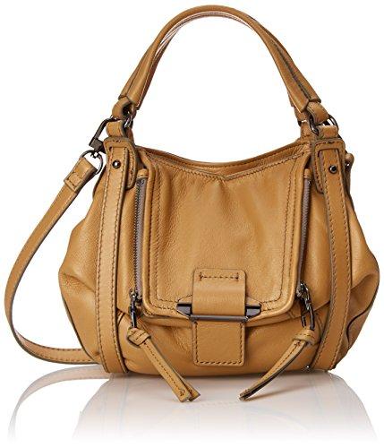 Kooba Handbags Mini Jonnie Metallic Cross Body Bag, Rose Gold, One Size