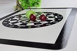 Homankit Silicone Baking Mat - Interesting Dartboard Design - 11 5/8\
