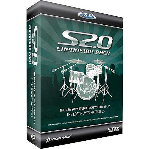 New York Studio Legacy Series Vol.2 SDX Sample Collection for Superior Drummer 2.0