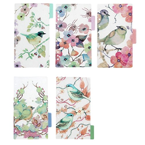 A5 Notebook With Dividers - 6