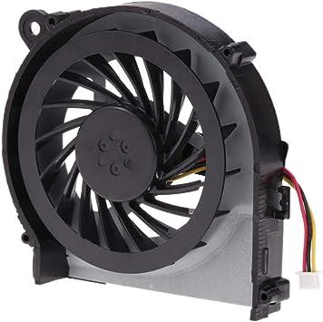 LIUYUNE,CPU Radiador Radiador del Ventilador para PC portátil HP ...