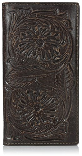 (Ariat Men's Floral Embose Rodeo, Brown, One Size)