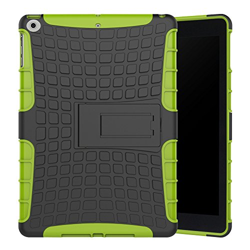 New iPad 2017 9.7 Inch Case, Jessica Shockproof  3in1 Hybrid
