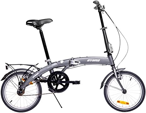 Oyama 3760130000000 - Bicicleta Plegables, Color Gris: Amazon ...