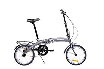 Oyama 3760130000000 - Bicicleta plegables, color gris