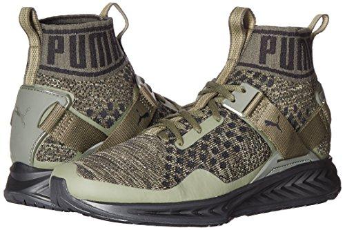 10 US Hommes Ignite 5 Puma Vert Baskets EvoKnit w7qIv